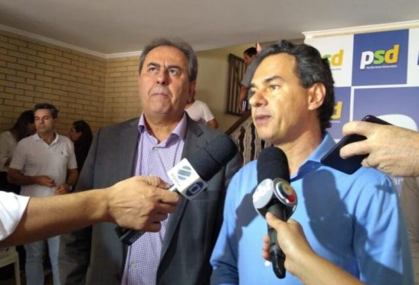 Prefeito Marquinhos Trad anuncia apoio ao candidato Jair Bolsonaro (Foto: Geisy Garnes)