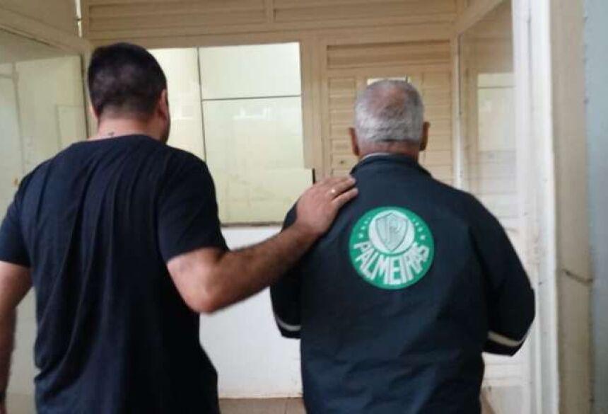 Homem foi preso por abusar de menina - Crédito: Osvaldo Duarte/Dourados News