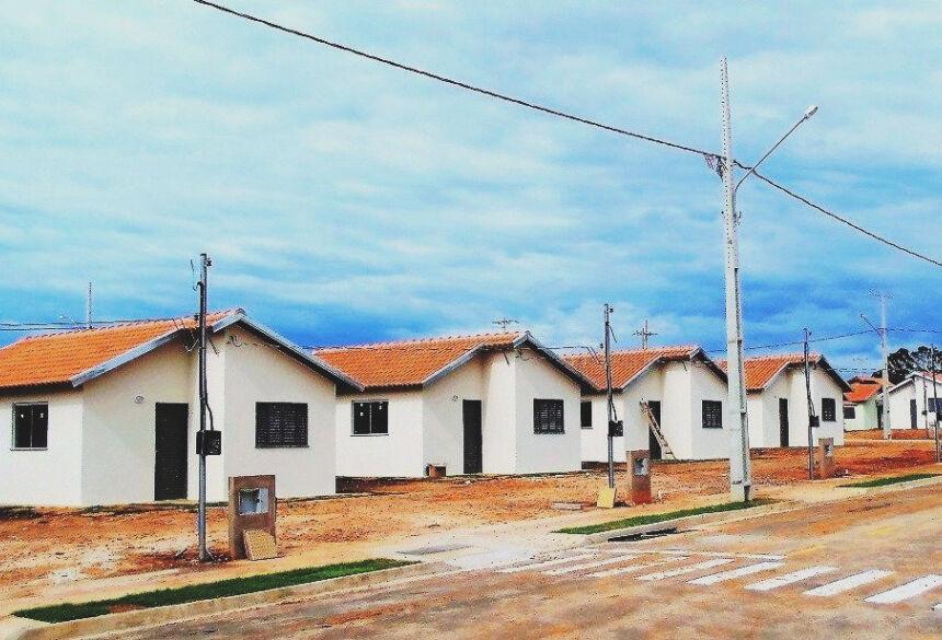 Os imóveis, financiados pela Caixa Econômica, são direcionados a famílias com renda mensal entre R$ 1.300,00 e R$ 2.400,00. Foto:PMB