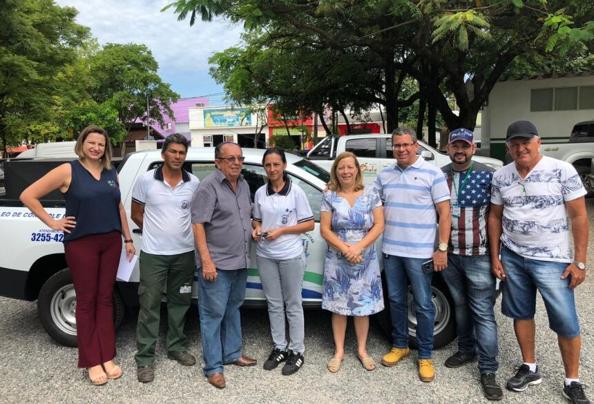 Entrega foi realizada no pátio da prefeitura, com a presença de autoridades. Foto: PMB