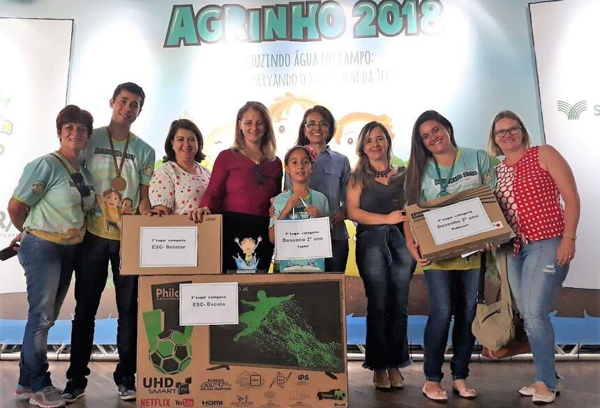 Bonito (MS) conquista duas premiações no Concurso Agrinho 2018, CONFIRA FOTOS