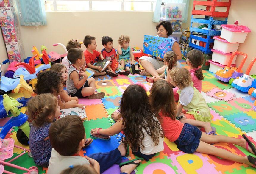 A Educação Infantil Integral terá carga horária de 50 (cinquenta) horas semanais. Foto Ilustrativa/SECOM/ES