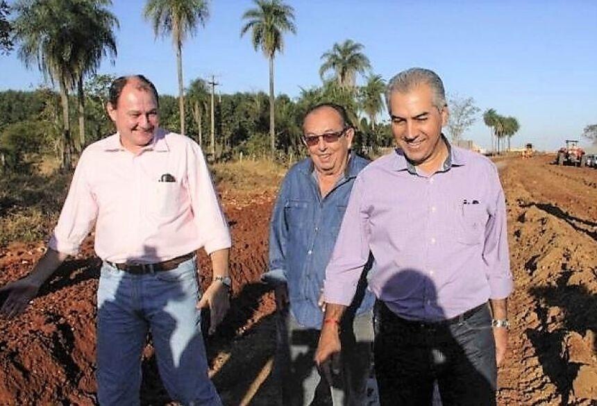 Uma das inaugurações oficiais será a do recapeamento do trecho que leva ao Balneário Municipal. Foto: Divulgação.