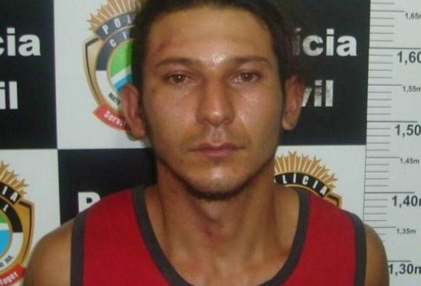 Renato foi condenado por atear fogo no corpo da própria mãe (Foto: divulgação)