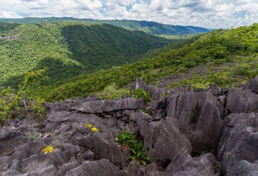 Os participantes do Bonito Cross vão poder contemplar o Parque Nacional da Serra da Bodoquena (Foto: Diego Cardoso/WikiParques)