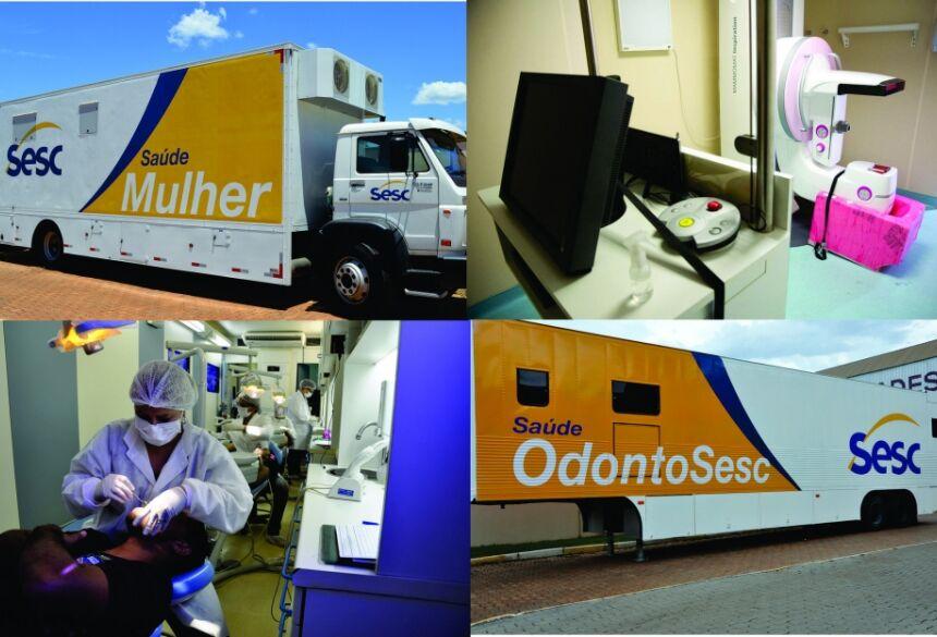 Carreta do OdontoSesc terá meta de atender 2,6 mil pessoas a partir desta segunda em Bonito (MS)