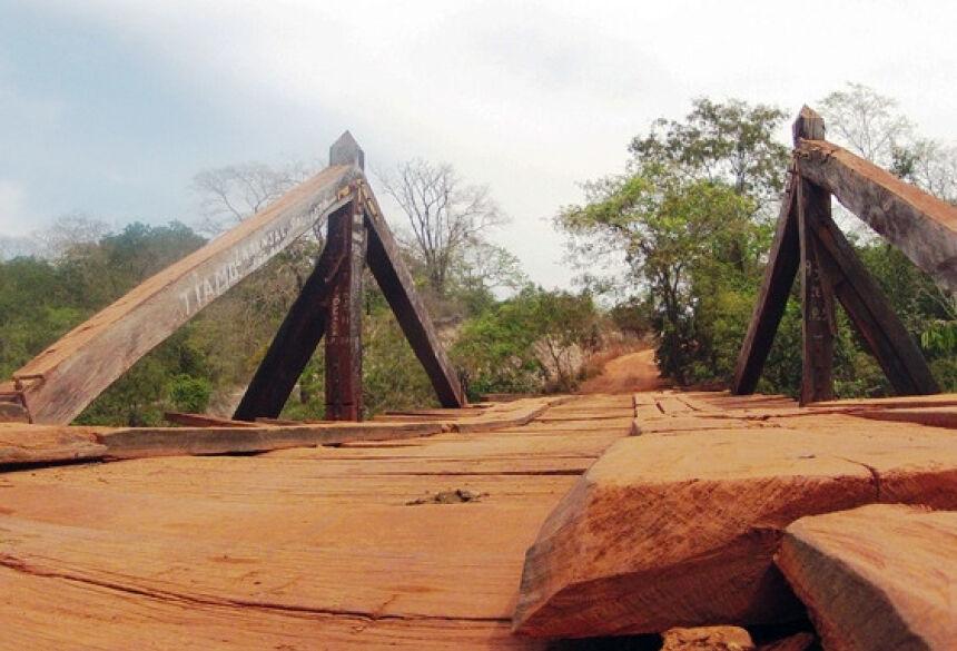 As 4 pontes se encontram no trecho da MS-345, que liga Bonito ao Km 21, em Anastácio. Foto ilustrativa