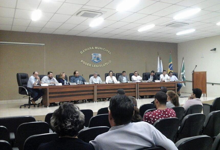 Câmara derruba veto do Executivo e aprova projeto de lei dando autonomia a vereadores em Bonito (MS)