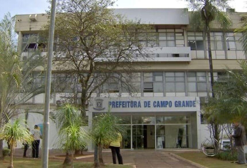 Prefeitura de Campo Grande. (Foto: Marcos Ermínio)