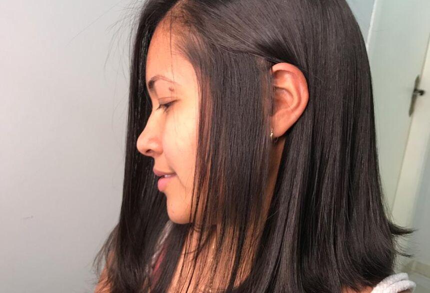 BODOQUENA: Em fase difícil da vida, pedagoga desapega e doa cabelo para quem luta contra o câncer