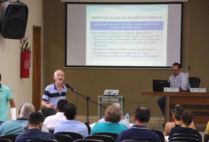 Audiência tratará sobre elaboração da Proposta Orçamentária para o exercício de 2020. Foto: Jabuty