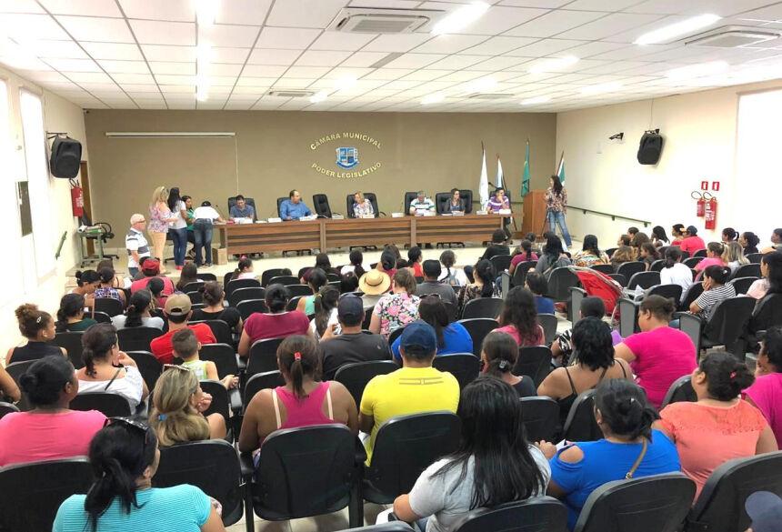 Reunião contou com a presença de 90, das 100 pessoas contempladas. Foto: Jabuty