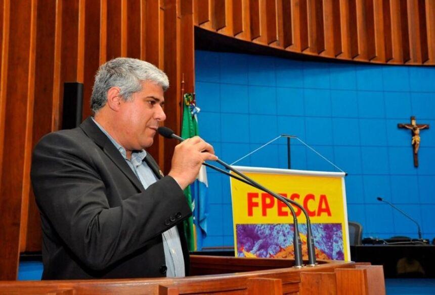 Na AL, Vereador de Bonito toma posse como membro da FPESCA do MS