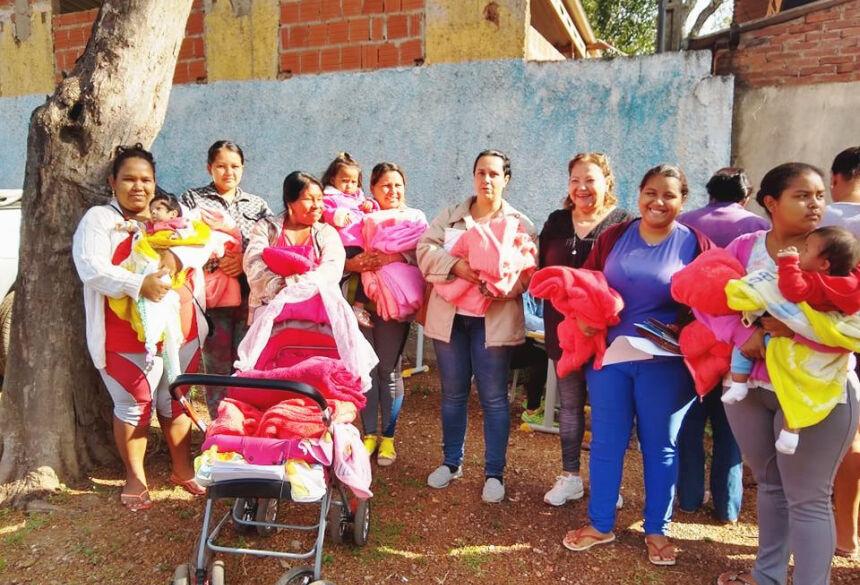 Distribuição foi realizada pela SAS (Secretaria de Assistência Social). Foto: Monaliza Olivera