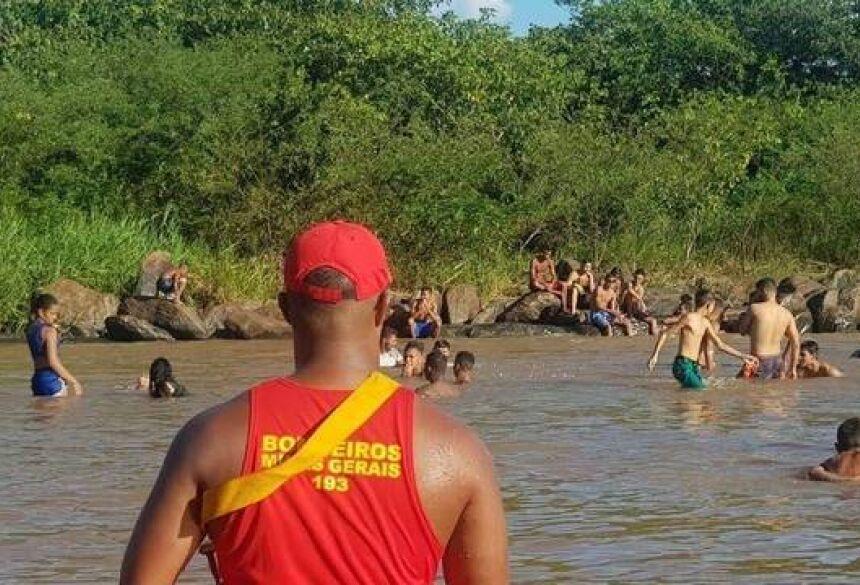 Maioria das vítimas de afogamento tem entre 20 e 40 anos, segundo os Bombeiros   (Divulgação/Corpo de Bombeiros)