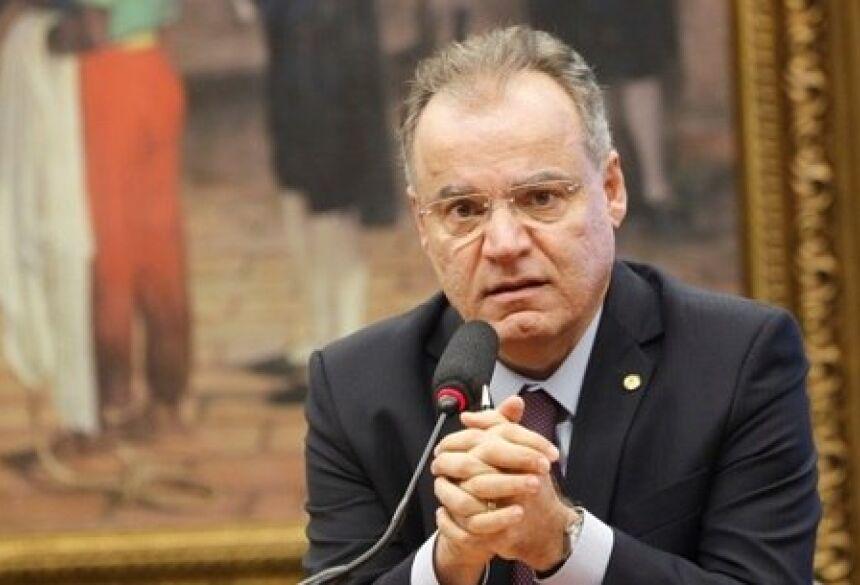 O relator da reforma, deputado Samuel Moreira Adriano Machado/Reuters - 25/04/2019