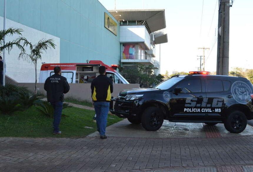Crime aconteceu em cinema, no Shopping Avenida Center - Foto: Gizele Almeida / Dourados News