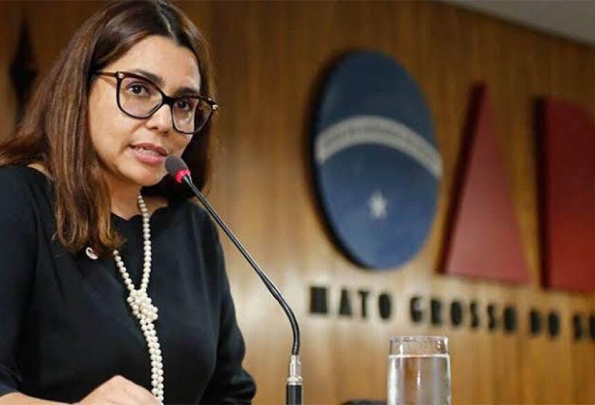 Eclair Nantes, Secretária Geral Adjunta da OABMS é Coordenadora Nacional do Grupo União das Advogadas do Brasil. Foto: Divulgação