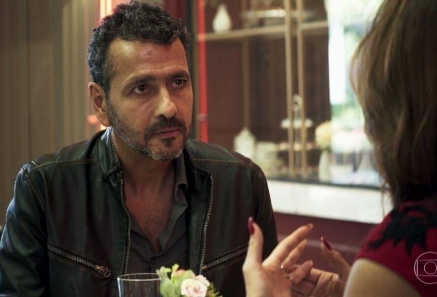 Marcos Palmeira interpreta o mocinho Amadeu de A Dona do Pedaço da Globo (Foto: Reprodução)