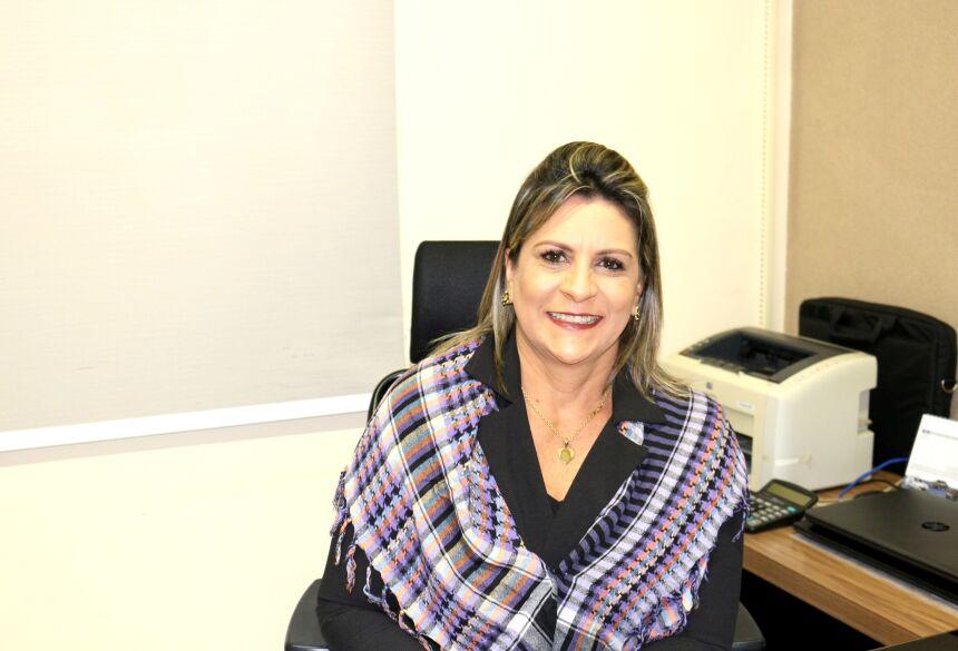 Presidente da Câmara Municipal de Bonito Luisa Aparecida Cavalheiro de Lima. Foto: Anna Gomes