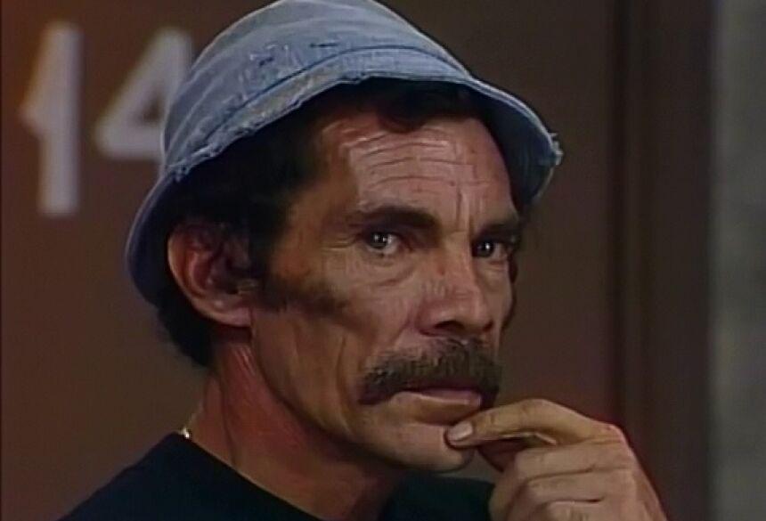 Ramón Valdés (Seu Madruga) emocionou o público 31 anos após sua morte (Foto: Divulgação/SBT)