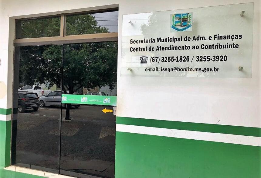 Adesão ao REFIC-2019 deverá ser feita na Central de Atendimento ao Contribuinte, na Rua Santana do Paraíso, nº 837, centro. Foto: PMB