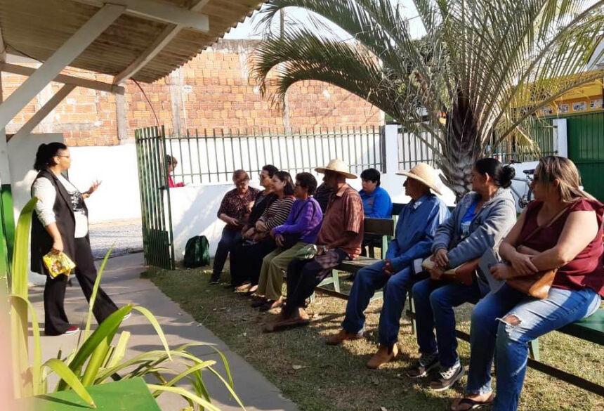 Palestra foi ministrada pela médica Adriana Cuevas. Foto: Divulgação
