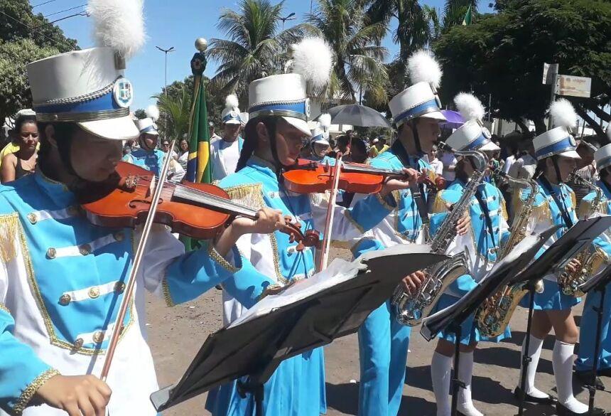 Festival de Bandas e Fanfarras dá início à programação do aniversário neste sábado em Bonito (MS)