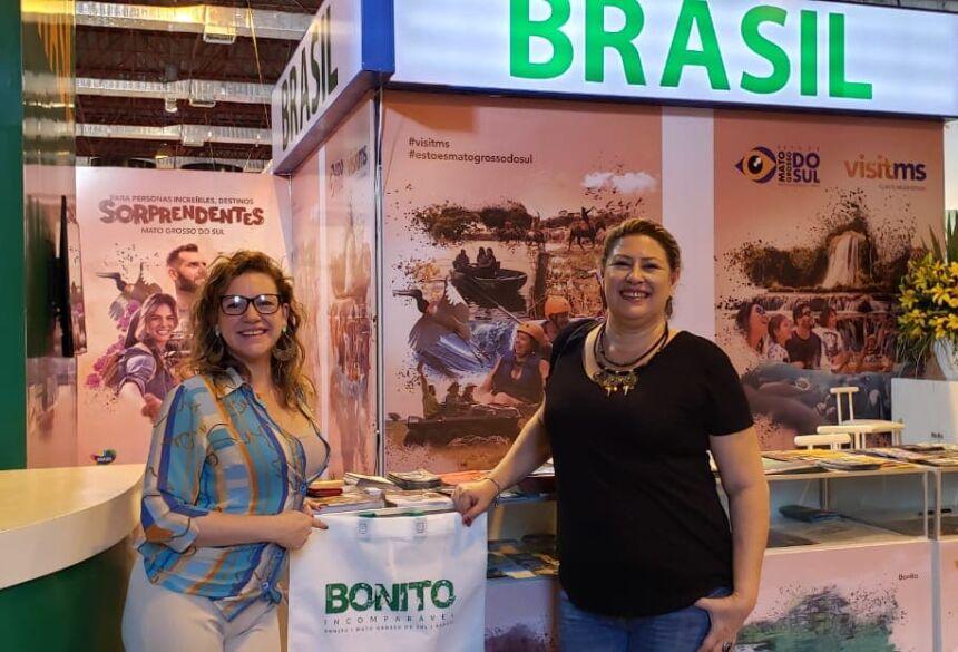 Representantes do IDB estão fazendo 'Bonito' na Bolívia.