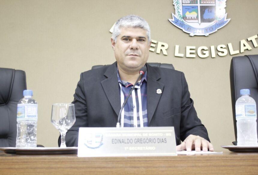 FOTO: ELI CARDOSO / ASSESSORIA - Durante sessão ordinária, Pantera solicita ambulância UTI móvel para Bonito (MS)