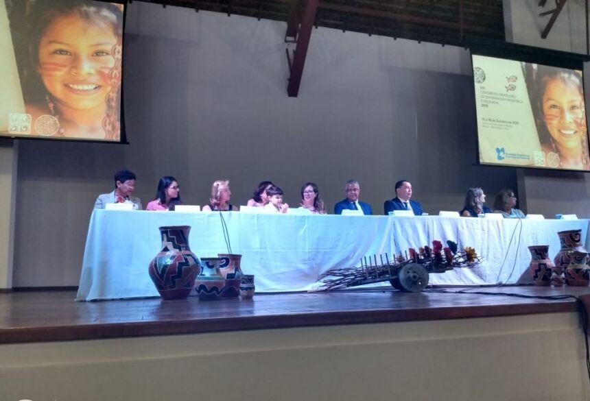 Abertura contou com a presença da secretária municipal de Saúde de Bonito. Foto: Divulgação