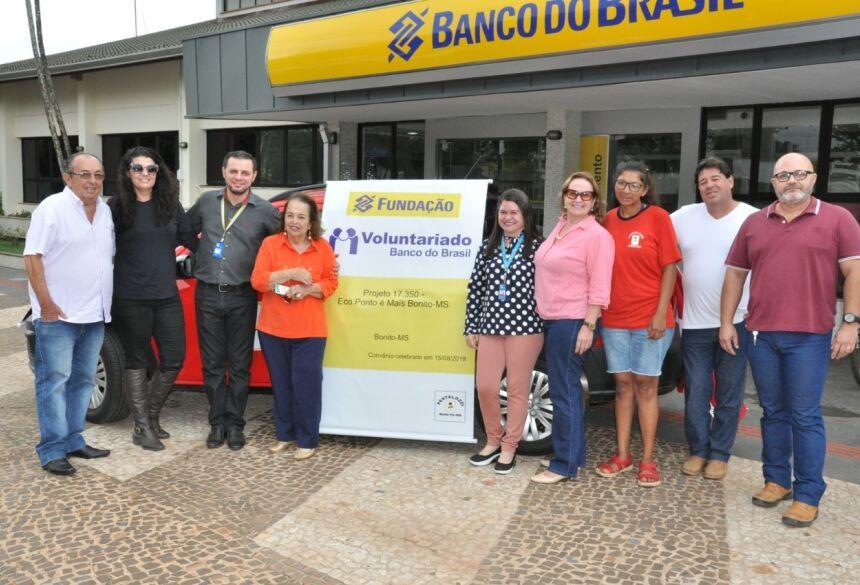 Veículo Saveiro será utilizado no projeto da Pestalozzi apoiado pelo Banco do Brasil. Foto: Jabuty