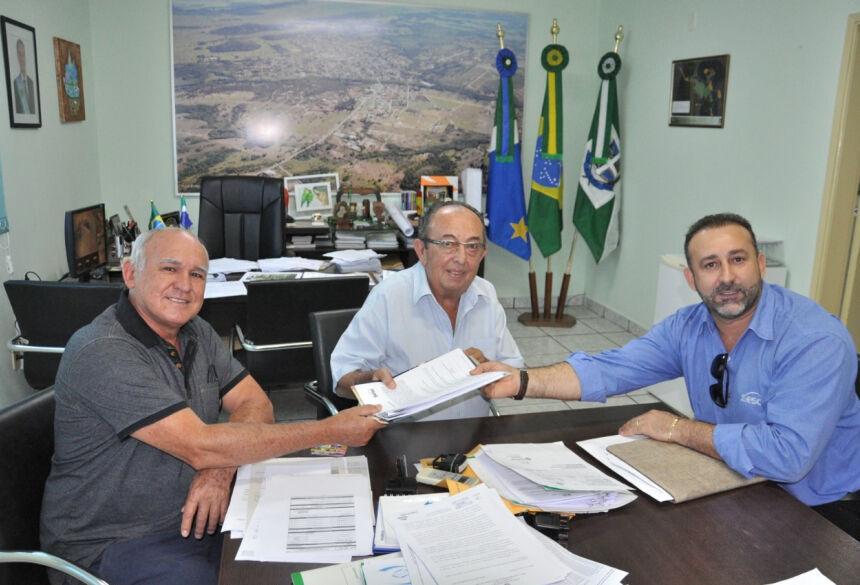 O SESC protocolou na prefeitura a documentação para a abertura do seu balneário. Foto: Jabuty