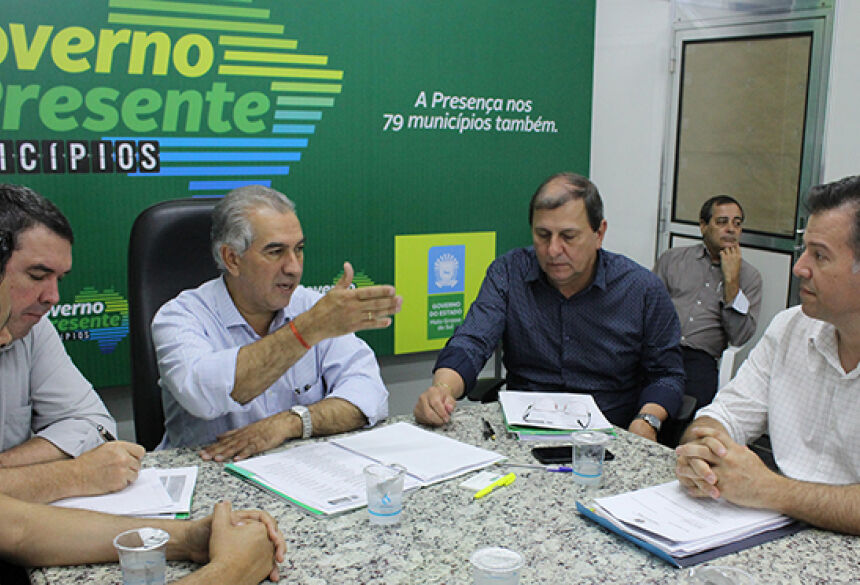 Governo Presente: prefeito de Jardim pede obras e destaca ineditismo do programa