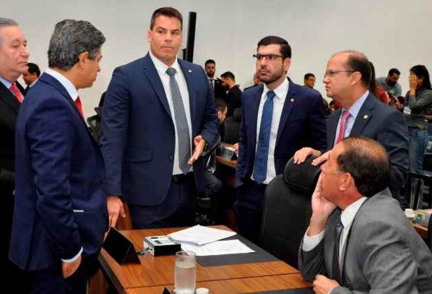 Deputados discutiram sobre abertura de CPI (Luciana Nassar, ALMS)