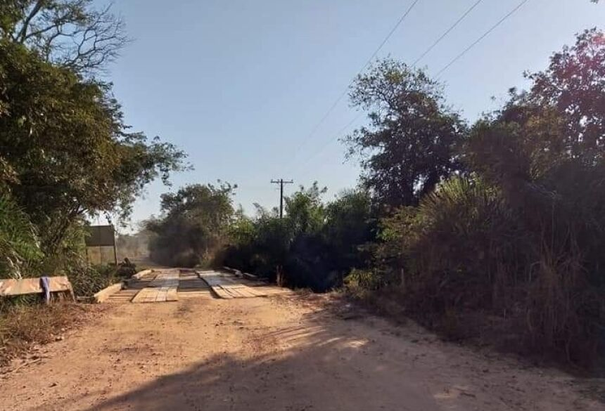 Ponte será refeita e reforçada desde a sua base. Foto: Divulgação