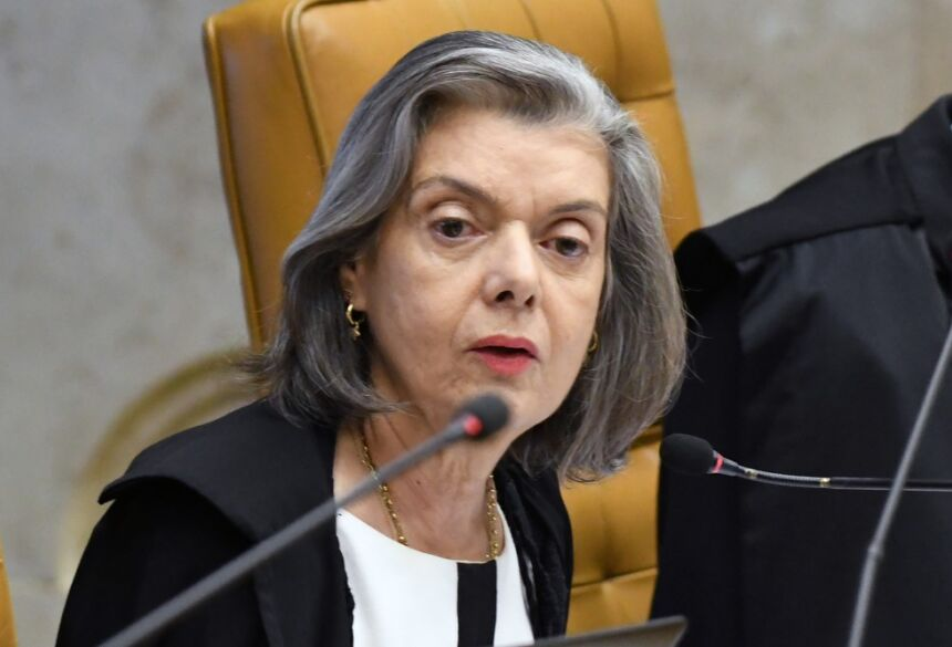 A ministra Cármen L — Foto: Carlos Moura/SCO/STF