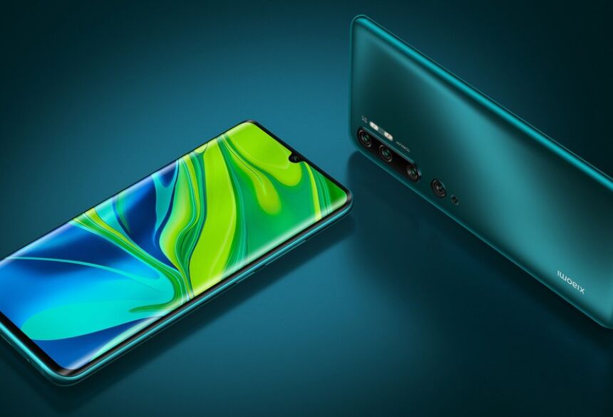 Telefone da Xiaomi soma cinco câmeras — Foto: Divulgação/Xiaomi