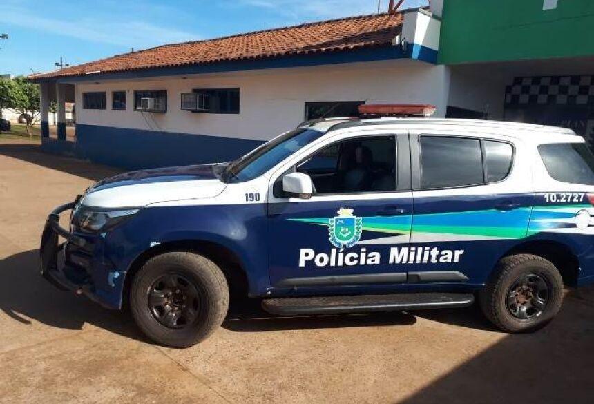 Viatura da PM de Caarapó. Foto: José Carlos