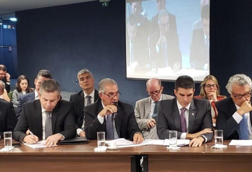Governador de MS defendeu acordo para que perdas sejam ressarcidas aos estados ainda neste ano (Divulgação)