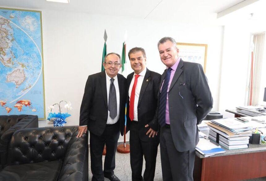 Prefeito e Secretário estão em Brasília na busca de recursos e melhorias para Bonito (MS)