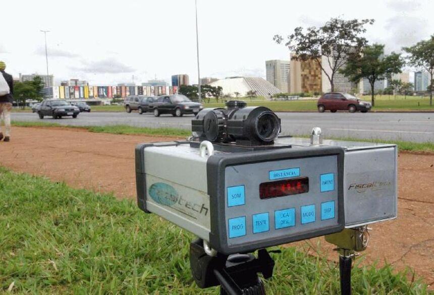 Radares móveis foram recolhidos em agosto - Foto: Foto: Arquivo / Agência Brasil