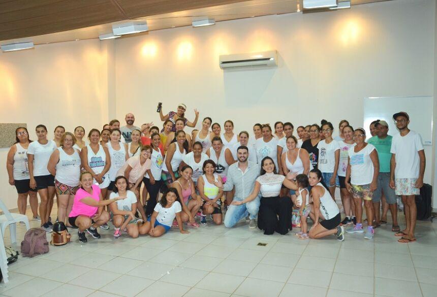 Roda de conversa sobre prevenção à depressão foi um sucesso e teve aulão de Zumba em Bonito (MS)