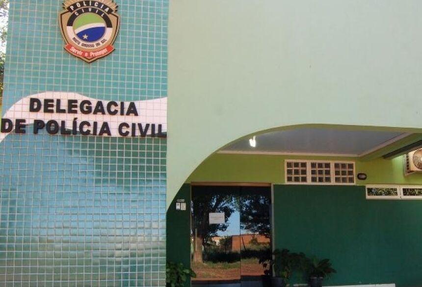Delegacia de Polícia Civil em Angélica (Foto: Divulgação/Portal Angélica)