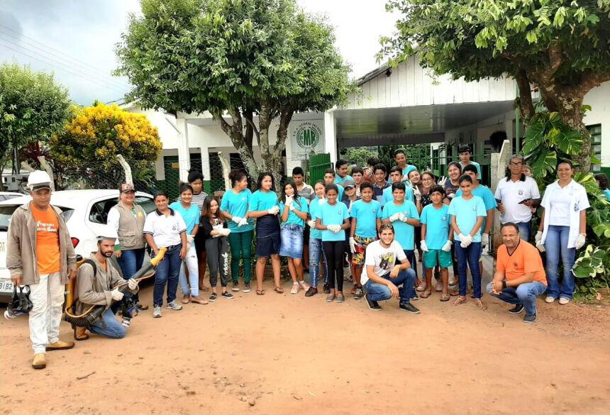 Trabalhos contaram com a participação de professores e alunos. Foto: Divulgação