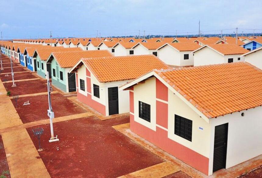 Casas serão para pessoas inscritas no CadÚnico,com renda familiar entre R$ 1400 e R$ 3500. Foto ilustrativa