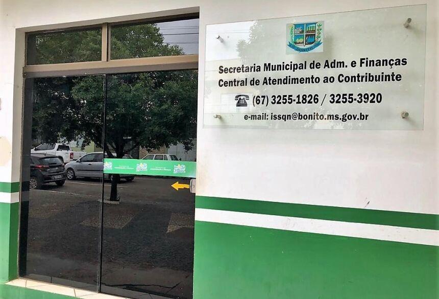 Com a prorrogação a prefeitura espera diminuir a procura dos contribuintes no Setor de Tributação. Foto: Divulgação
