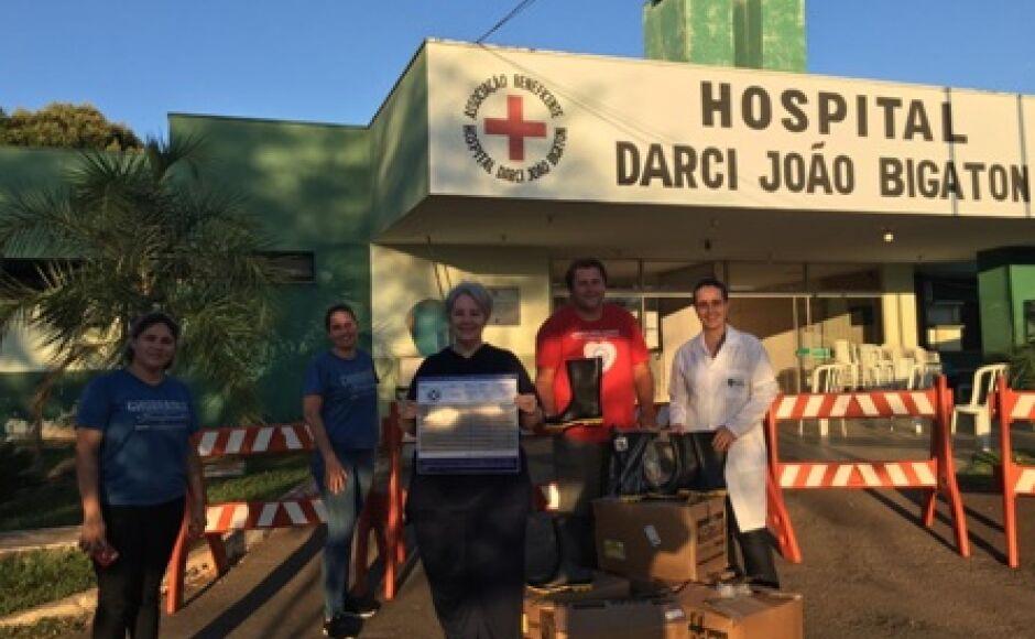 EM BONITO: mutirão popular arrecada e produz EPIs para o Hospital Darci João Bigaton