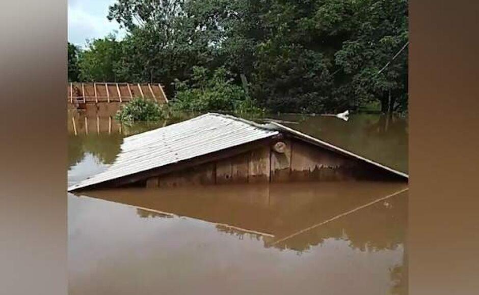 Devido a continuação das chuvas, Defesa Civil alerta moradores de Nioaque, Miranda e Bonito