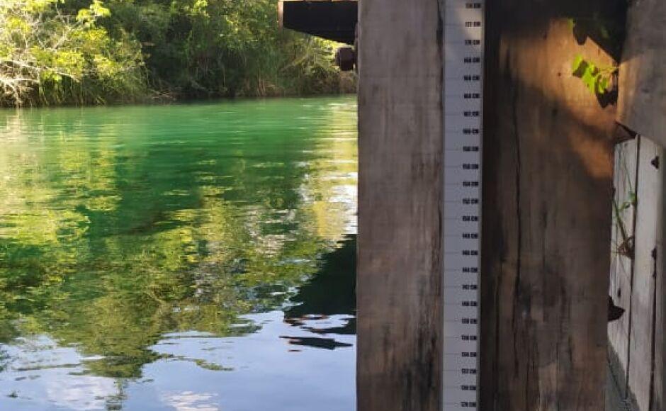 Turbidez e visibilidade da água do Rio Formoso no Balneário Municipal são monitorados em Bonito